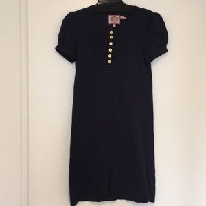 Juicy Couture Navy Blue Sweater Dress size S
